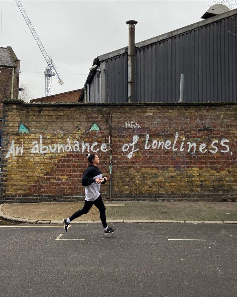 """An Abundance of Loneliness"",  Edwin, London, March 2021. Photograph courtesy of Edwin."